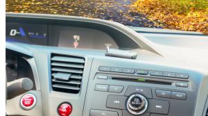 Toenail on the dashboard